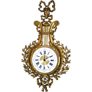 Louis XVI Style Rococo Burwood New Haven Quartz Clock