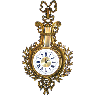 Louis XVI Style Rococo Burwood New Haven Quartz Clock