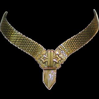 Victorian Etruscan Revival Choker Necklace