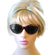 Vintage Tortoise Cat Eye Sunglasses from the 1980s