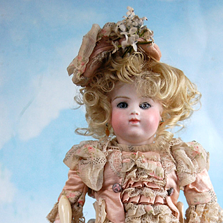 "10.5"" Bru Brevete Rare Size 5 Perfect Bisque! Darling French Ensemble!"