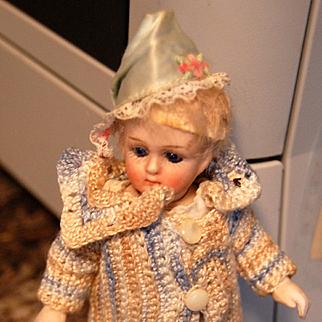 """Stunning Jullien Jeune 5 1/2"""" Mignonette ~ All Bisque Doll"""