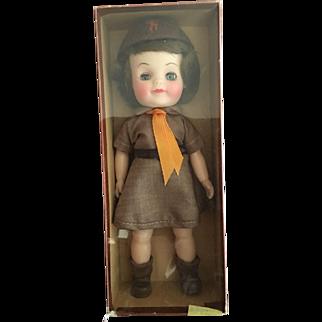 Effanbee Fluffy MIB Girl Scout O/G Scout box!
