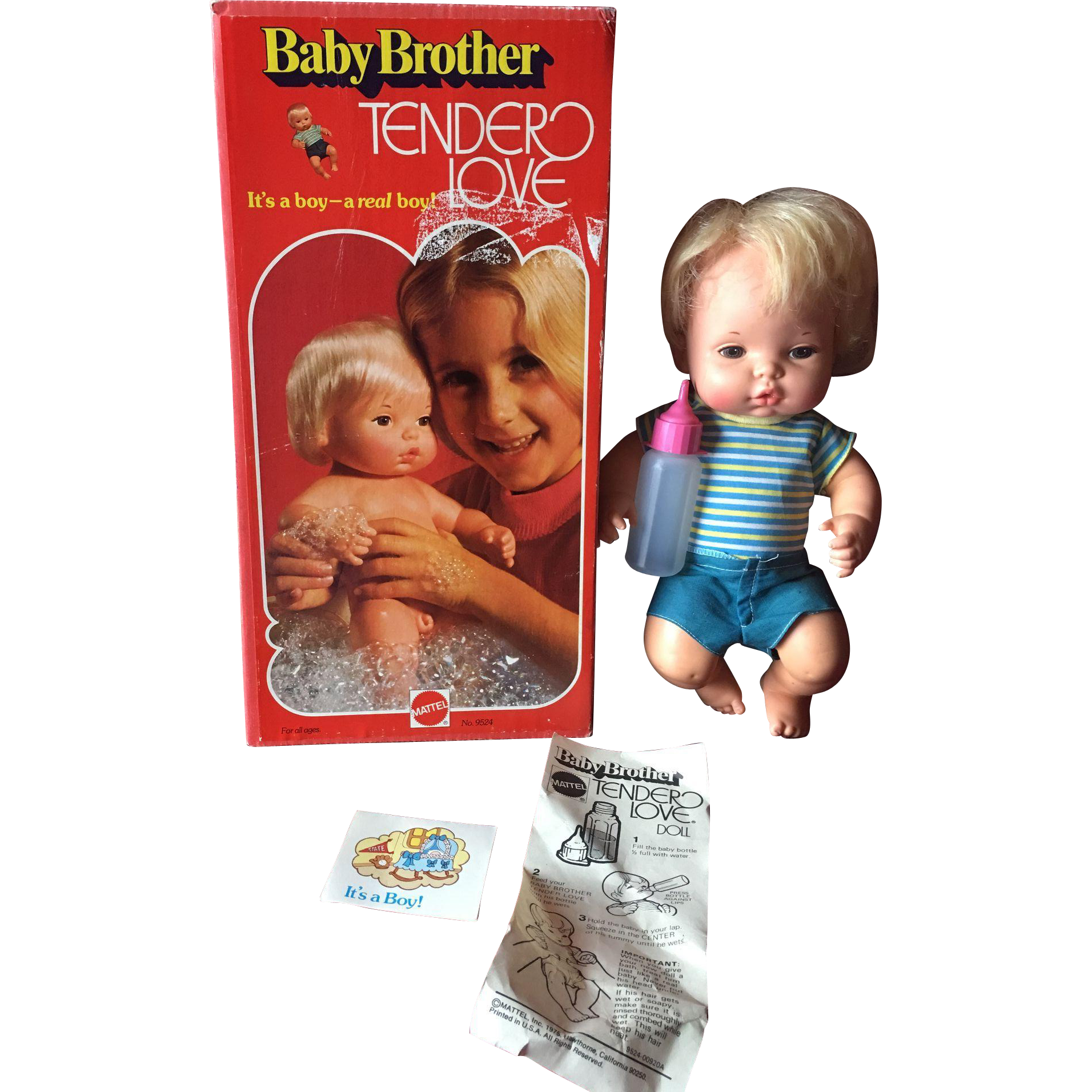 Mattel Baby Brother Tender Love MIB !