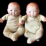 "10"" Twin Bye Lo Babies to Dress!"
