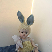 Rare1950 Ginny Easter Bunny Crib Crowd!