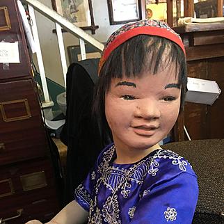4' Chinese Vintage Mannikin!
