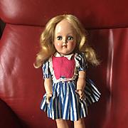 "P-91  15"" Toni Doll by Ideal All Original tagged dress!"