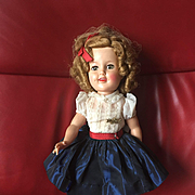 "17"" Rare Shirley Temple Doll All Original! Has name pin!"