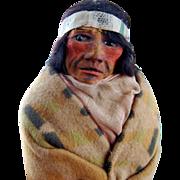 "15"" Mary Woods Skookum Indian Doll All Original!!"