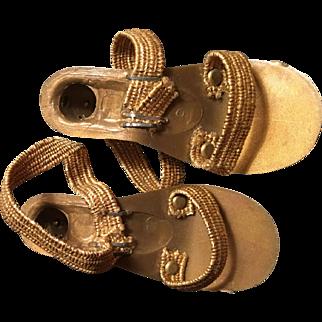 Cissys gold Heels! Madame Alexander