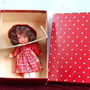 Mint in Box! Nancy Ann StoryBook To Market To Buy a Fat Hen 120 Red Box!
