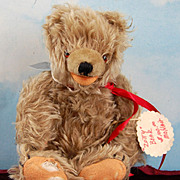 "11"" Vintage Zotty Bear! Fluffiest Bear Ever! Rare Cinnamon Color!"