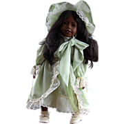 Mint and All Original Heidi Ott Black Doll Gorgeous!