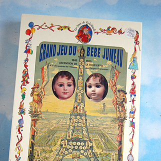 Rare Jumeau Game from Paris France! Never used ..