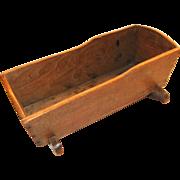 Miniature Walnut Cradle from Piedmont, North Carolina