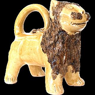 NC Pottery Lion