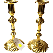 Brass Candlesticks from Colonial Williamsburg