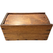 Yello Pine Candle Box