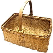 North Carolina Oak Splint Basket