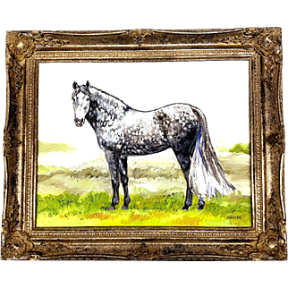 Draft Horse Painting