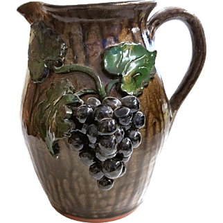 Alkaline Glazed Pitcher