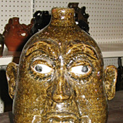 Lanier Meaders  Pottery Face Jug