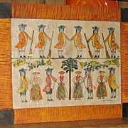 Folk Art Painting or Fraktur