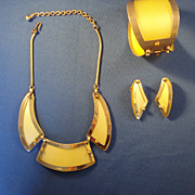 LERU Necklace, Bracelet, Earring Set