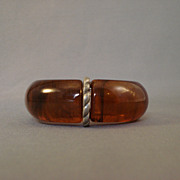 Root Beer Clamper Bracelet