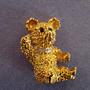 Mini-Bear pin by '' PANETTA''