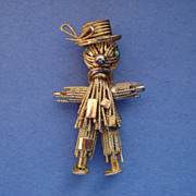"""Gross"" Hobo Figural Pin"