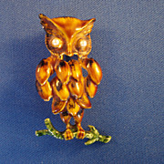 """Original by Robert"" Owl Pin"