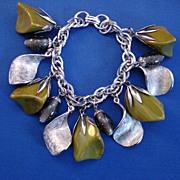 Bakelite Charm Bracelet