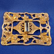 Art Nouveau Sash Pin
