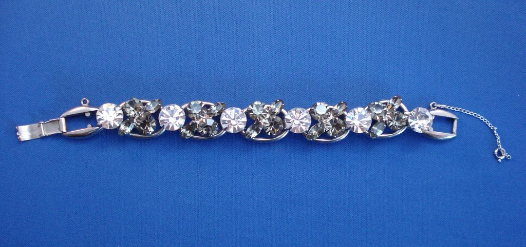 'Juliana' Smokey Topaz Color Bracelet