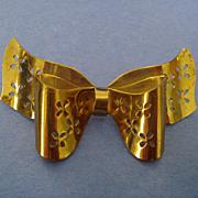 CORO Vintage Bow Pin