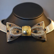Bow Necklace - Vintage