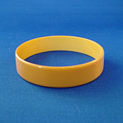 Butterscotch Bakelite Bangle