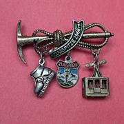 Zugspitze2966m Souvenir Pin