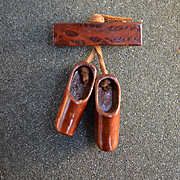 Dutch Wooden Shoes Pin