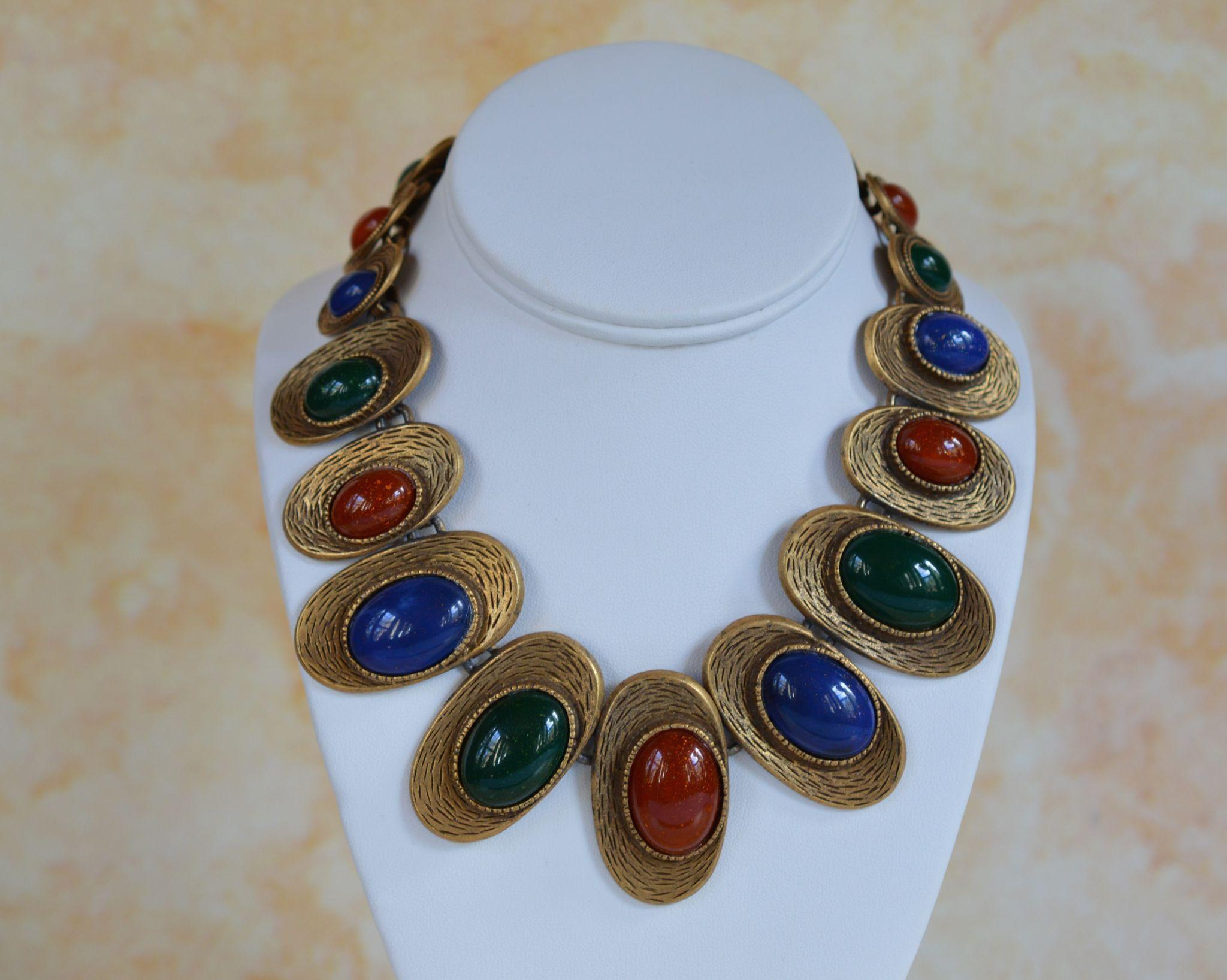 Les Bernard Necklace - Egyptian Revival