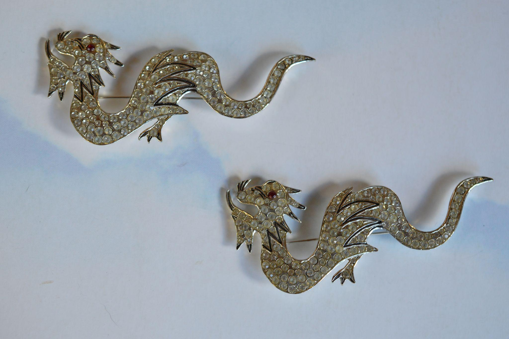 """Polcini"" Dragon Pins"