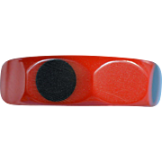 Polka Dot Bakelite Bangle Bracelet