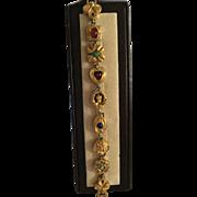 'Goldette'  Slide Bracelet Lookalike