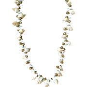 Miriam Haskell Natural Shell Necklace