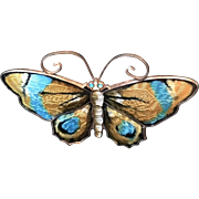 D-A Norway - Butterfly Pin