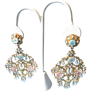 Barrera (Jose & Maria) Chandelier Earrings