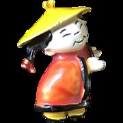 Har - Chinese Enamel Girl