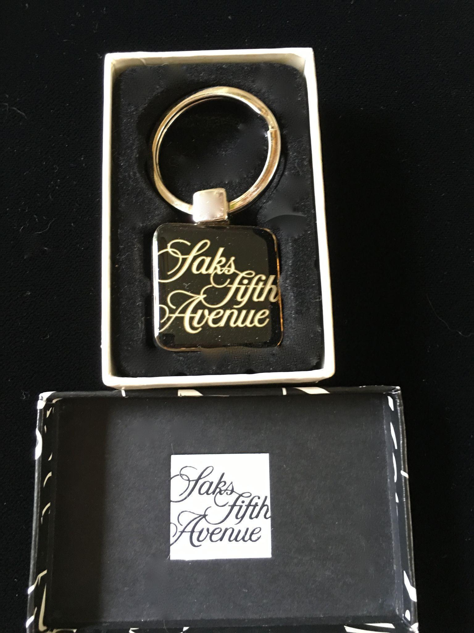Saks Fifth Avenue Key Ring